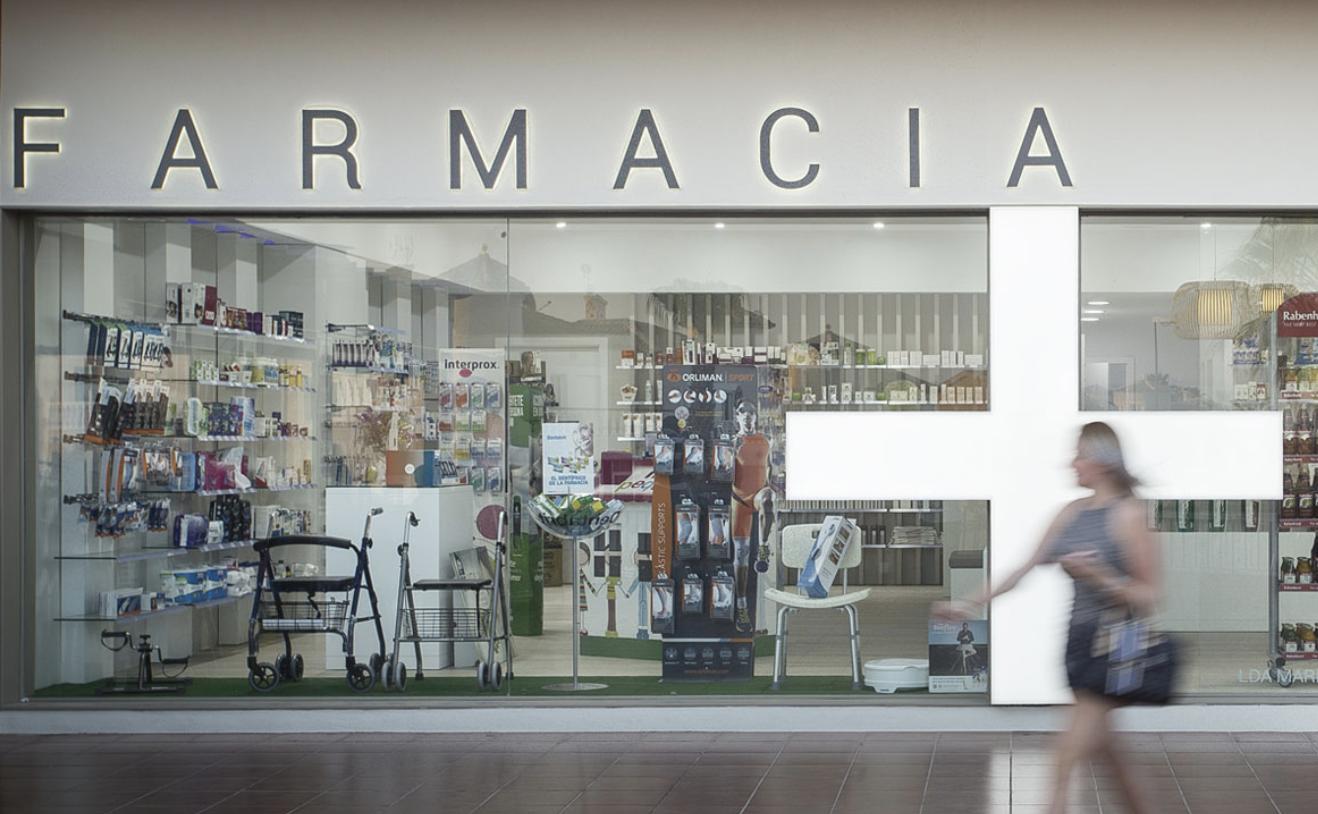 Farmacia reformada.
