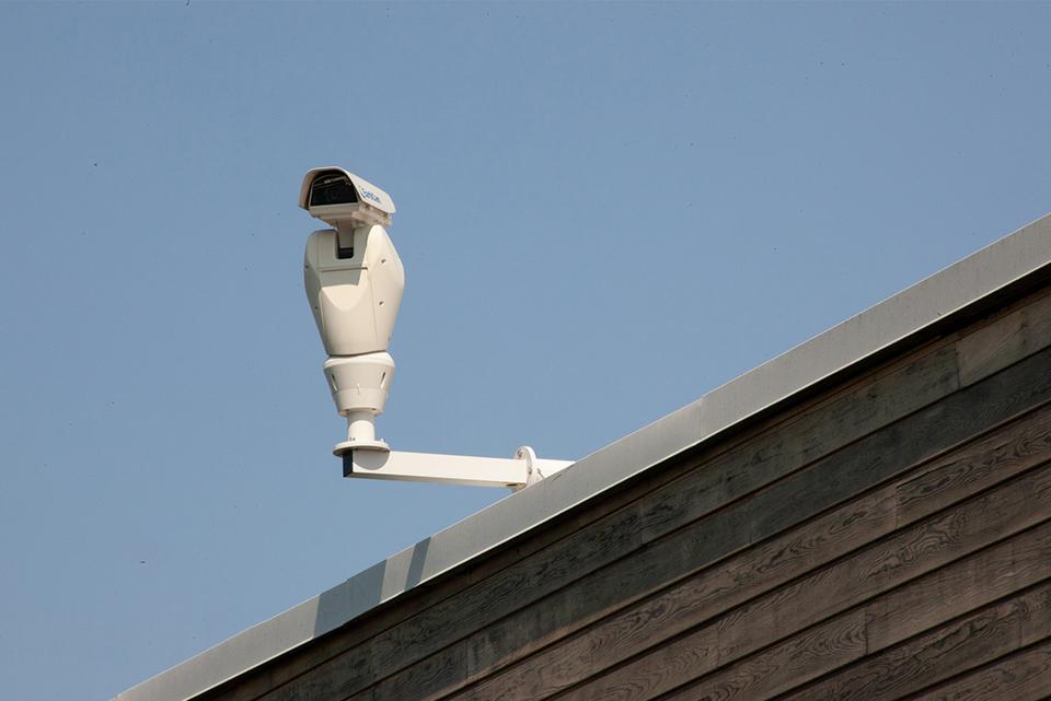 Sistema de cámaras de vídeo vigilancia.